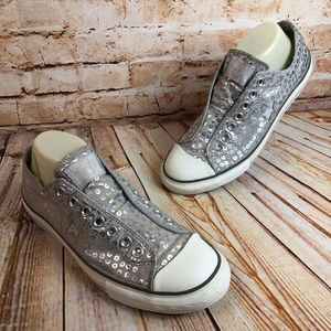 Converse All Star Chucks No Tie Shoes Sneakers